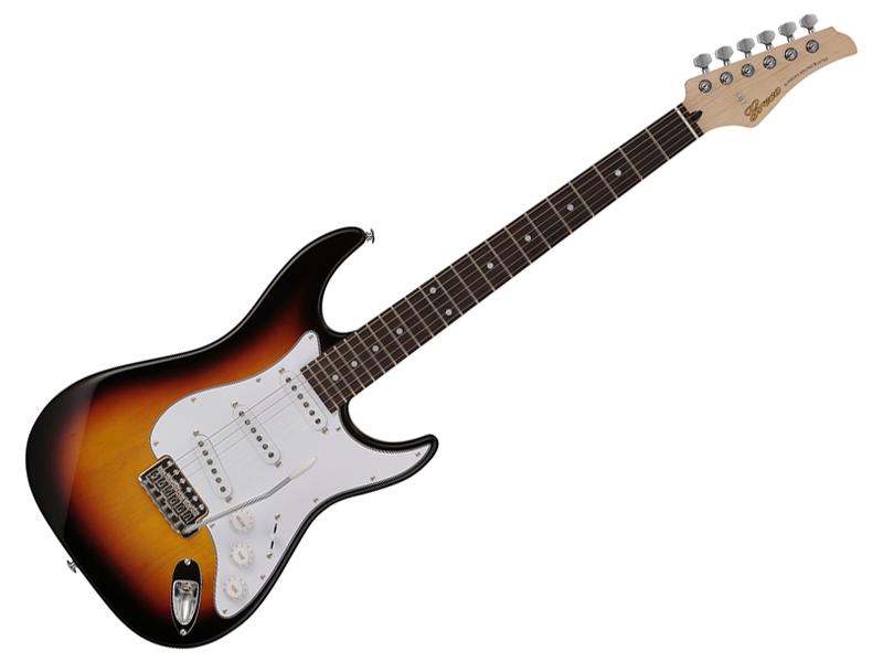 Greco ( グレコ ) WS-STD (SB/R) 【 日本製 エレキギター】【WSアクセサリーキット プレゼント 】