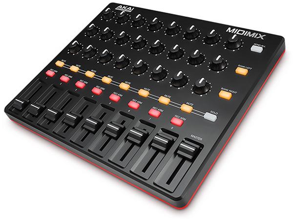 AKAI professional ( アカイ プロフェッショナル ) MIDI MIX ◆【MIDIコントーラー】 ◆【送料無料】【DAW】【DTM】