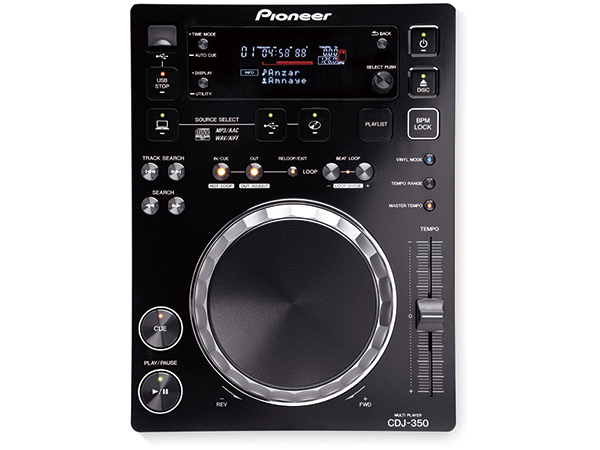 Pioneer ( パイオニア ) CDJ-350-K【ブラック】 ◆【送料無料】【DJ】【CDJ】