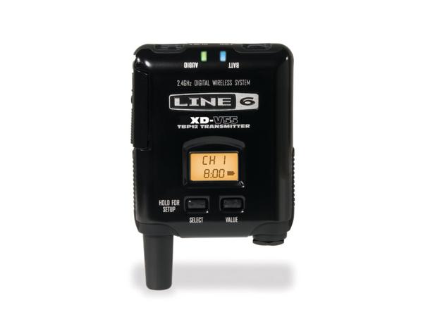 LINE6 ( ラインシックス ) V55-BP ◆ 2.4GHz帯デジタルワイヤレス V55-RX用 ボディパック型トランスミッター