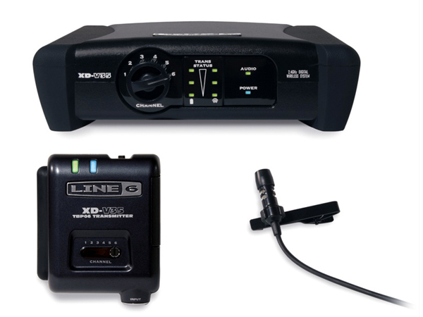LINE6 ( ラインシックス ) XD-V35L ◆ 2.4GHz帯デジタルワイヤレスマイクシステム ラベリアマイク【XDV35L】
