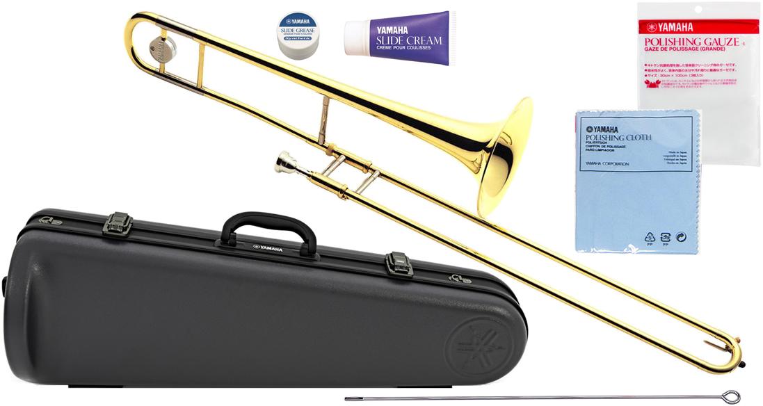 YAMAHA ( ヤマハ ) YSL-354 テナートロンボーン 新品 日本製 管楽器 細管 B♭ トロンボーン 初心者 スライド式 楽器 本体 YSL354 Tenor Trombones 送料無料