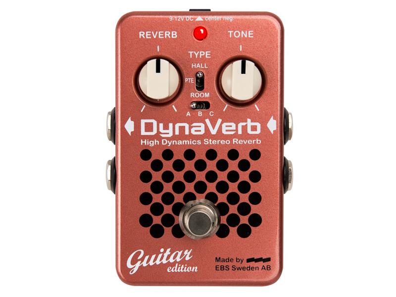 【 新品 】 EBS ( イービーエス ) DynaVerb Guitar DynaVerb イービーエス edition【ダイナバーブ リバーブ ) エレキギター用】, St.Scott:62a4bac1 --- canoncity.azurewebsites.net
