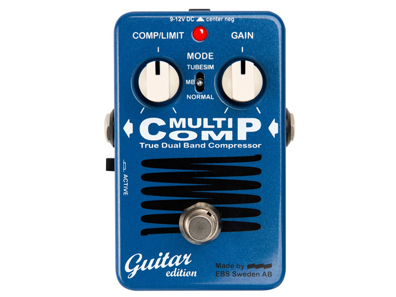 EBS ( イービーエス ) MultiComp Guitar edition 【マルチコンプ ギターエディション 】