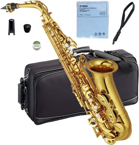 YAMAHA ( ヤマハ ) 【予約】 アルトサックス YAS-62 ゴールド 新品 日本製 サックス 管体 E♭ 管楽器 本体 アルトサクソフォン YAS-62-04 送料無料