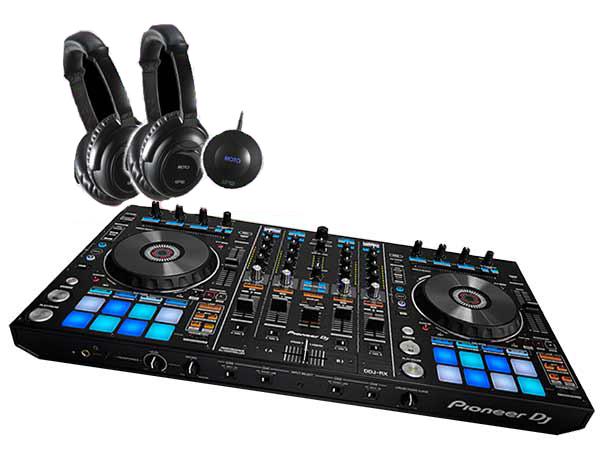 Pioneer ( パイオニア ) DDJ-RZ SILENT DISCO SET ◆【送料無料】【PC DJ】【沈黙フェス】
