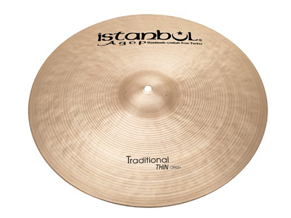 Istanbul Agop Traditional Thin CRASH 15