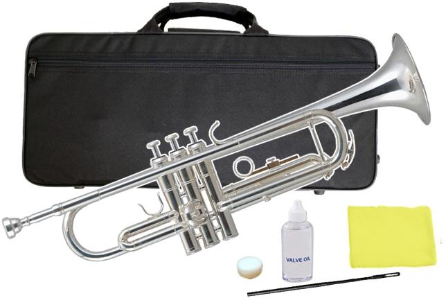Kaerntner ( ケルントナー ) KTR-35 トランペット 銀メッキ 新品 初心者 管楽器 管体 シルバーメッキ B♭調 本体 SP 金管楽器 Trumpets SV KTR35