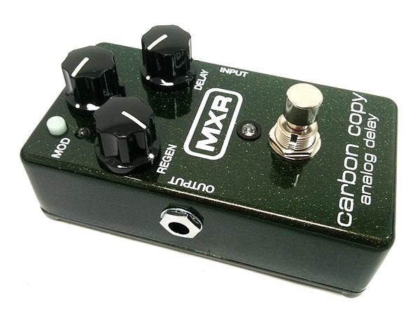 MXR ( エムエックスアール ) M169 【アナログ ディレイ Carbon Copy analog 】【C4061 パッチケーブルプレゼント 】 [ 送料無料 ]M-169