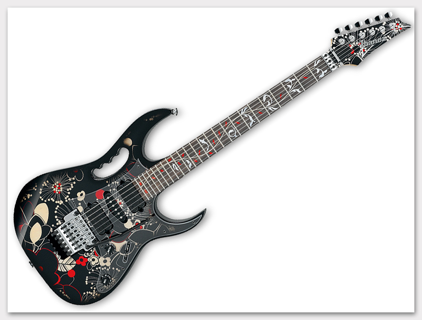 Ibanez ( アイバニーズ ) JEM77(FP2)【 スティーヴ・ヴァイ Model 受注生産品 】 エレキギター