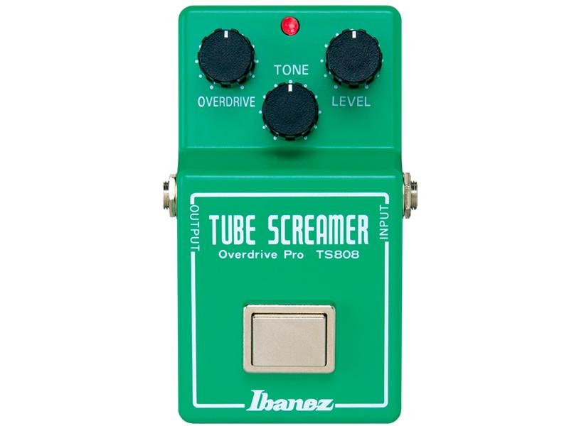 Ibanez ( アイバニーズ ) TS-808 Tube Screamer 【チューブ スクリーマー オーバードライブ TS808 WO 】【新春特価! 】