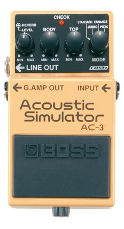 BOSS ( ボス ) AC-3 【アコースティック・シミュレーター WO】【C4061 パッチケーブルプレゼント 】