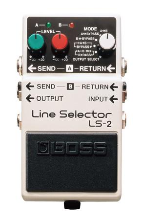 BOSS ( ボス ) LS-2 Line Selecter 【6通りの ライン・セレクト・モード】【C4061 パッチケーブルプレゼント】