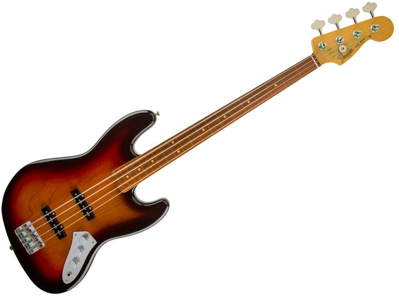 Fender ( フェンダー ) Jaco Pastorius Jazz Bass【USA ジャコ・パストリアス フレットレス ジャズベース 】【196208800】 エレキベース