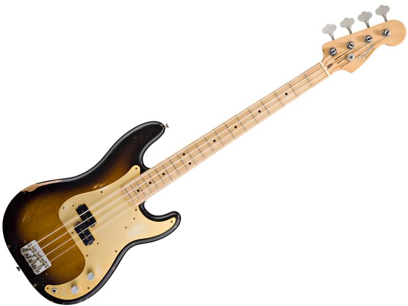 FENDER Road Worn 50s Precision Bass(2-Color Sunburst)【レリック プレシジョン・ベース Mex 】【0131712303】