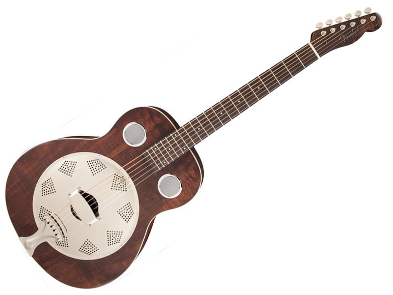 Fender ( フェンダー ) Brown Derby Resonator【リゾネーター アコースティックギター 】【955006092】【クリップチューナー プレゼント! 】 アコースティックギター
