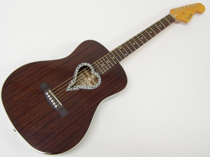Fender ( フェンダー ) Alkaline Trio Malibu【アルカライン・トリオ アコースティックギター】【971712022】【クリップチューナー プレゼント! 】 アコースティックギター