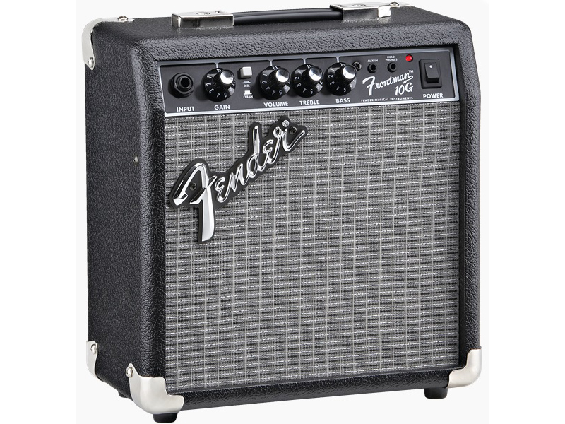 とにかくリーズナブルに音をだすならこれ!フェンダーです。 Fender ( フェンダー ) FRONTMAN 10G 【フロントマン ギター アンプ 】【2311007900】【決算最強価格! 】 フェンダー