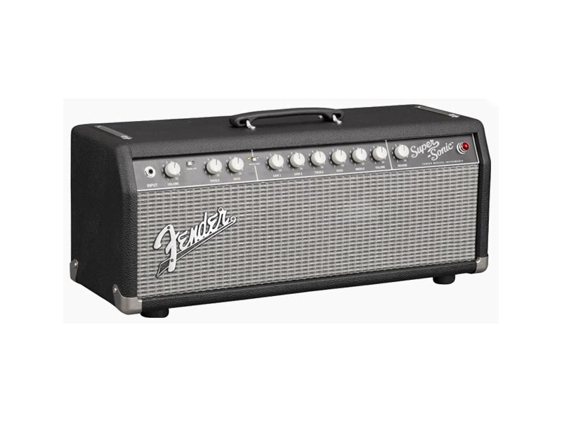 Fender ( フェンダー ) SUPER-SONIC 22 Head (Black) 【スーパーソニック ギターヘッド】【2161007000】 フェンダー