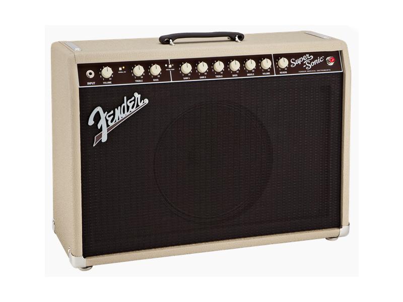 Fender ( フェンダー ) SUPER-SONIC 22 COMBO (BLONDE) 【スーパーソニック ギターアンプ】【2160007400】 フェンダー
