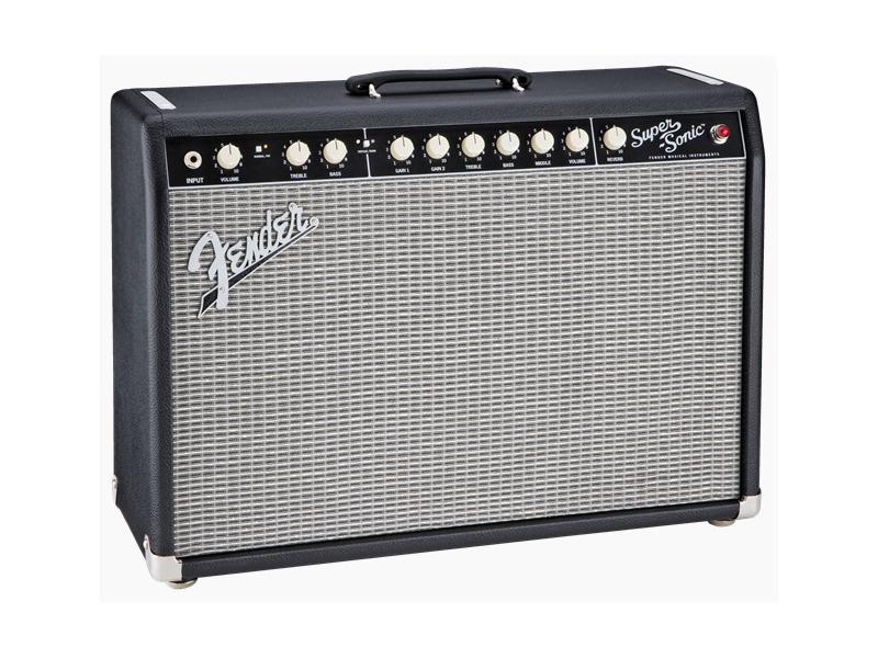 Fender ( フェンダー ) SUPER-SONIC 22 COMBO (BLACK) 【スーパーソニック ギターアンプ】【2160007000】 フェンダー