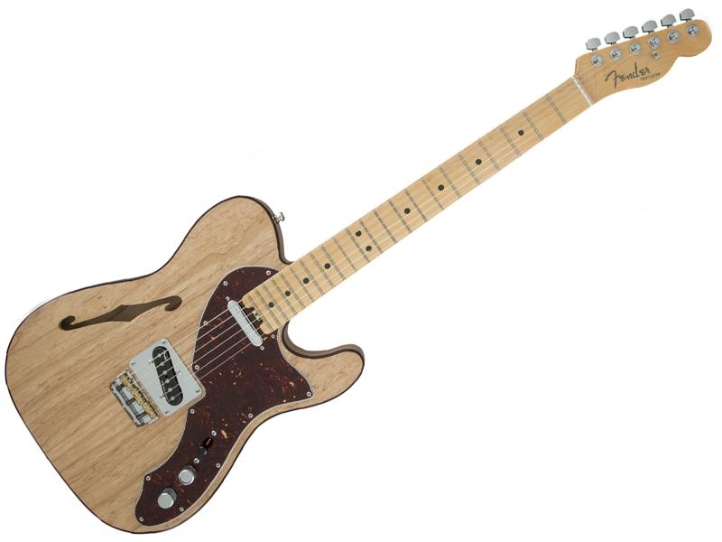 Fender ( フェンダー ) American Elite Telecaster Thinline (Natural/M) 【USA テレキャスター シンライン エリート】【114312721】 エレキギター