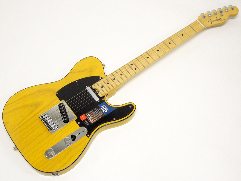 Fender ( フェンダー ) American Elite Telecaster (Butterscotch Blonde/M) 【USA テレキャス エリート 】【0114212750】 USA エレキギター