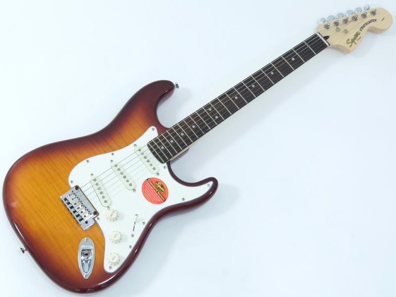 SQUIER ( スクワイヤー ) Standard Stratocaster FMT(AMB)【 ストラトキャスター by フェンダー】【321670520】【勝負価格! 】 エレキギター