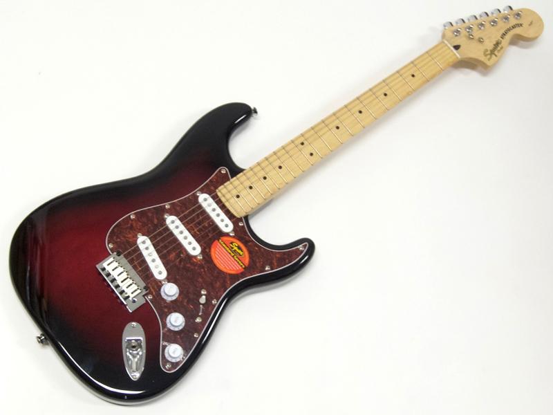 SQUIER ( スクワイヤー ) Standard Stratocaster (ATB/M)【 ストラトキャスター by フェンダー】【321602537】【C3316 モノグラム・ストラップ プレゼント 】 エレキギター