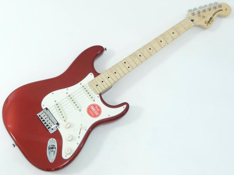 SQUIER ( スクワイヤー ) Standard Stratocaster (CAR/M)【 ストラトキャスター by フェンダー エレキギター】【321602509】【Running Logo Strap プレゼント 】 エレキギター