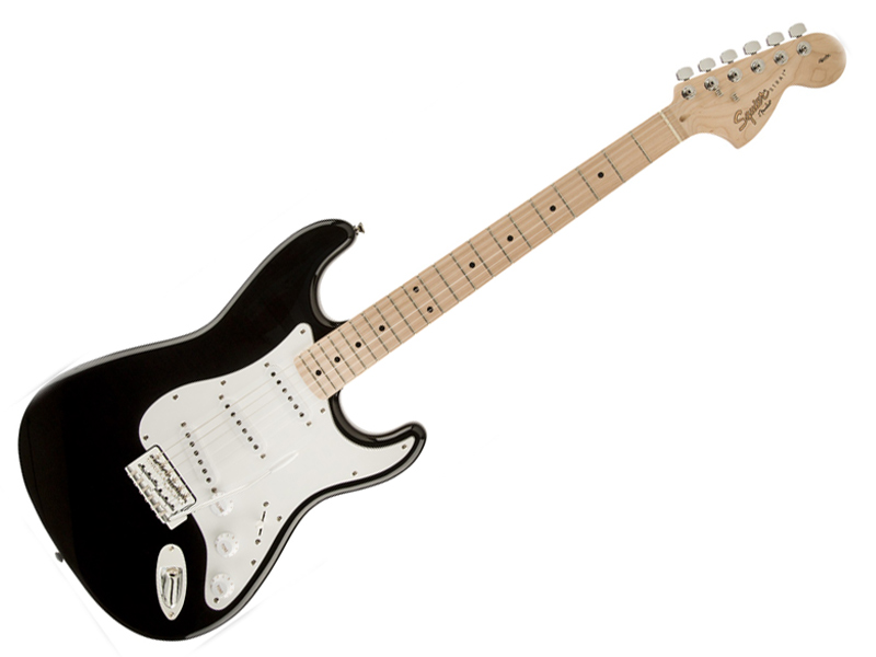 SQUIER ( スクワイヤー ) Affinity Stratocaster BLK/M【ストラトキャスター by フェンダー】 エレキギター