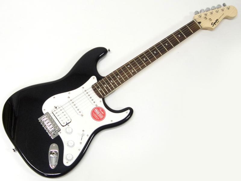 フェンダー】【310005506】【C3316 (BLK) Bullet SQUIER by 【ストラトキャスター エレキギター HSS プレゼント スクワイヤー モノグラム・ストラップ ) Stratocaster ( 】