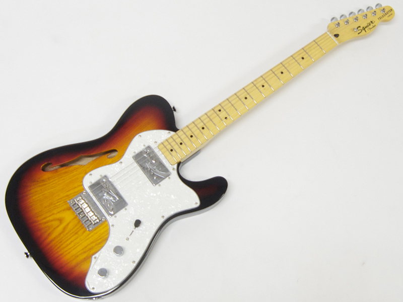 SQUIER ( スクワイヤー ) Vintage Modified Telecaster Thinline 72 (3TS)【 シンライン テレキャスター 】【301280500】 エレキギター by フェンダー