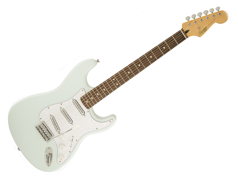 SQUIER ( スクワイヤー ) Vintage Modified Stratocaster Surf (SNB)【 ストラトキャスター by フェンダー】【301220572】【C3316 モノグラム・ストラップ プレゼント 】 エレキギター