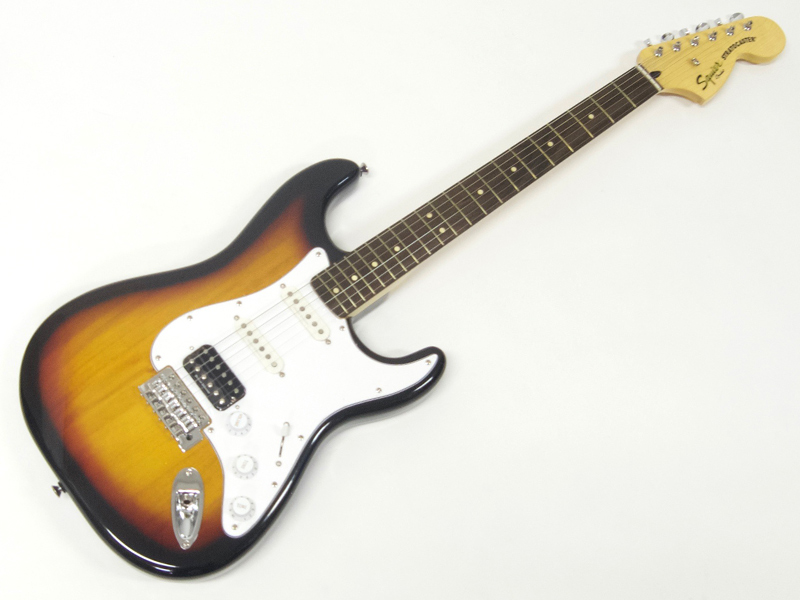 SQUIER ( スクワイヤー ) Vintage Modified Stratocaster HSS (3TS)【 ストラトキャスター by フェンダー】【0371215500】【C3316 モノグラム・ストラップ プレゼント 】 エレキギター