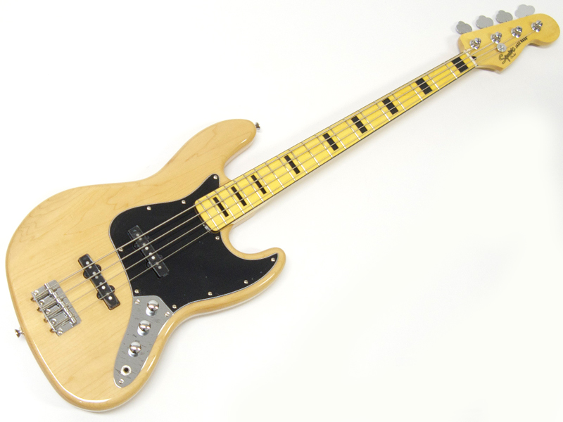 SQUIER ( スクワイヤー ) Vintage Modified Jazz Bass 70s (NAT)【ジャズベース by フェンダー】【306702521】
