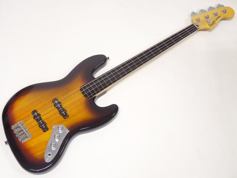 SQUIER ( スクワイヤー ) Vintage Modified Jazz Bass FL (3TS)【 フレットレス ジャズベース 】【0306608500 】
