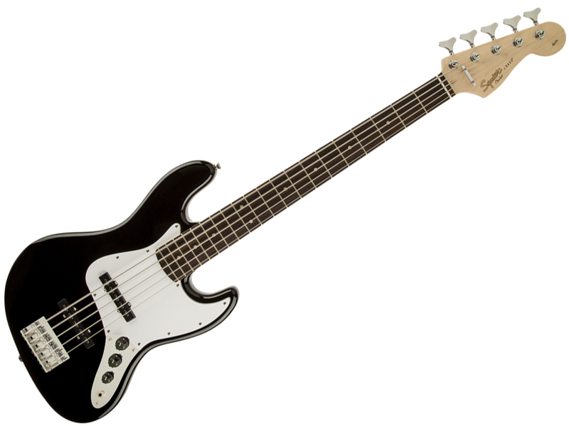 SQUIER ( スクワイヤー ) Affinity Jazz Bass V(BLK)【5弦 ジャズベース by フェンダー】【301575506】