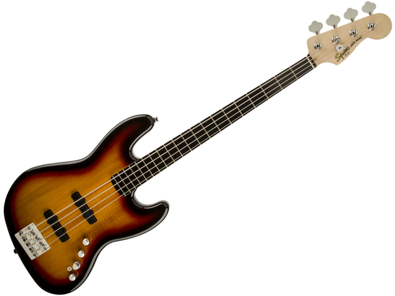 SQUIER ( スクワイヤー ) Deluxe Jazz Bass Active(3TS) 【ジャズベース by フェンダー】【300574500】