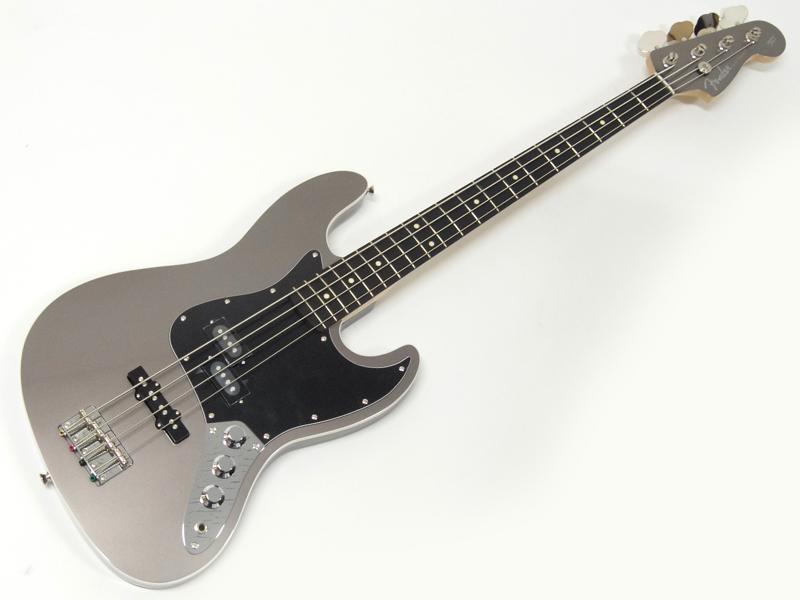 Fender ( フェンダー ) Aerodyne Jazz Bass (Dolphin Grey)【国産 エアロダイン ジャズベース DFG】【5257404343】 フェンダージャパン