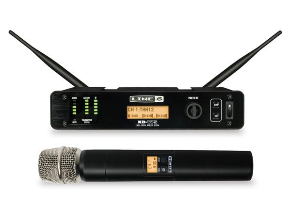 LINE6 ( ラインシックス ) XD-V75 ◆ 2.4GHz帯デジタルワイヤレスマイクシステム ハンドヘルドマイク【XDV75】