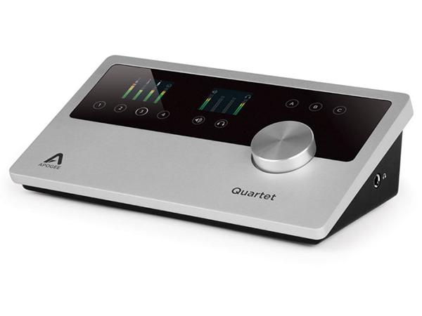 APOGEE ( アポジー ) Quartet for iPad & Mac【QUARTET-IOS-MAC-LO】 ◆ [送料無料][ アポジー / カルテット] [ DTM ] [インターフェイス] [USB 2.0]