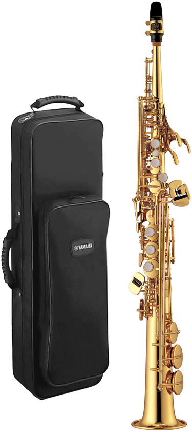 YAMAHA ( ヤマハ ) YSS-475 ソプラノサクソフォン 新品 日本製 管楽器 サックス 本体 ストレート ネック 一体型 ソプラノサックス 管体 ゴールド 楽器 送料無料