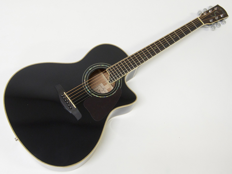 S.Yairi ( エスヤイリ ) YE-5M(BK) 【エレアコ アコースティックギター 】