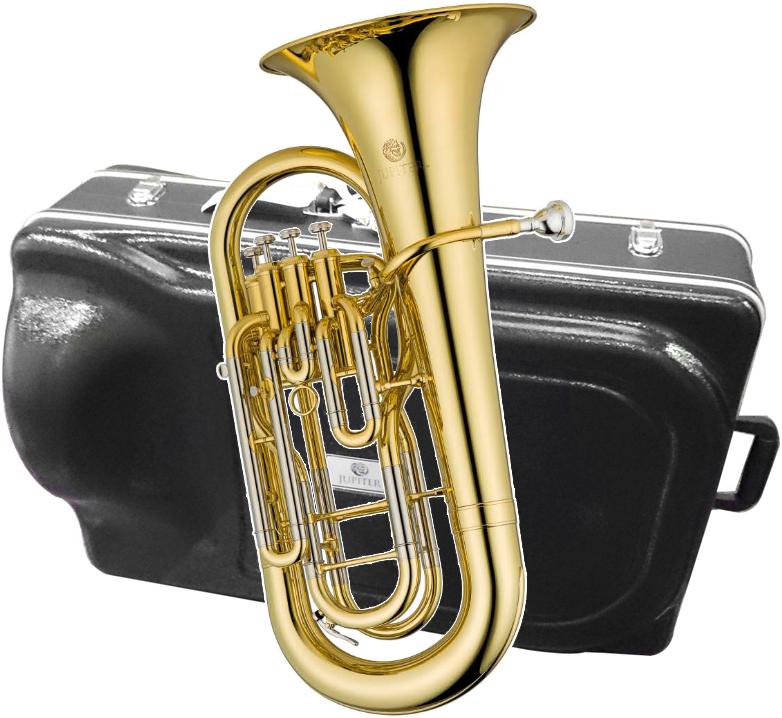 JUPITER ( ジュピター ) JEP1000 ユーフォニアム 新品 4ピストン トップアクション ラッカー 管楽器 ゴールド 本体 イエローブラスベル Euphonium JEP-1000 一部送料追加 北海道/沖縄/離島=送料実費請求