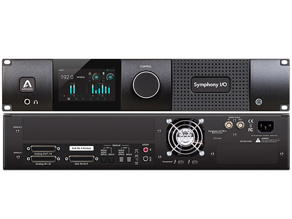 APOGEE アポジー Symphony I O MKII Thunderbolt Chassis with 8x8 代引不可 SYM28X8S2 TB 送料無料 DAW DTM