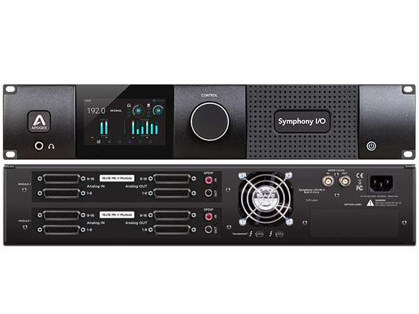 APOGEE ( アポジー ) Symphony I/O MKII Thunderbolt Chassis with 32x32 ◆【代引不可】【SYM232X32S2 TB】 ◆【送料無料】【DAW】【DTM】