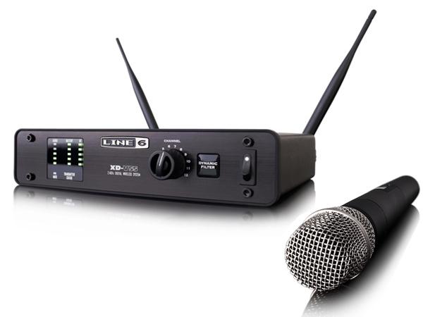 LINE6 ( ラインシックス ) XD-V55 ◆ 2.4GHz帯デジタルワイヤレスマイクシステム ハンドヘルドマイク【XDV55】 [ 送料無料 ]