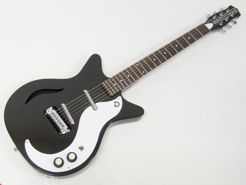 Danelectro ( ダンエレクトロ ) 59M Spruce (BLKP)【 モディファイ エレキギター】【特製コースター プレゼント 】