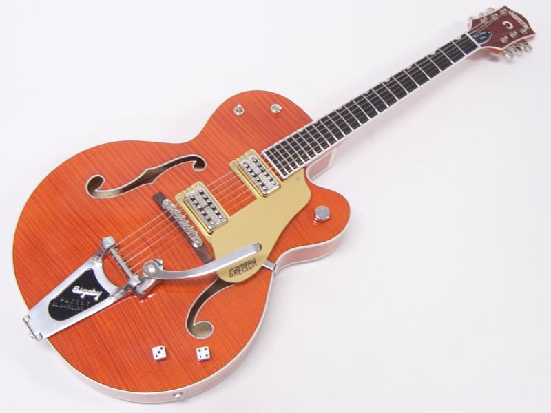 GRETSCH ( グレッチ ) G6120SSU Brian Setzer Nashville (Orange ) 【 ブライアン・セッツァー 】 ナッシュビル